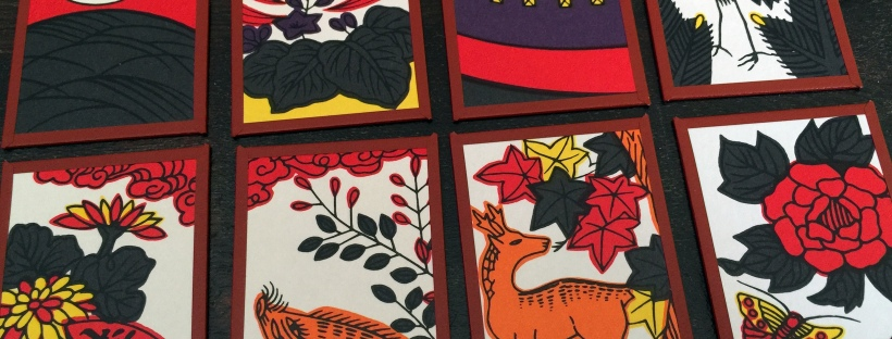 Hanafuda cards for JAASC Game Night Social