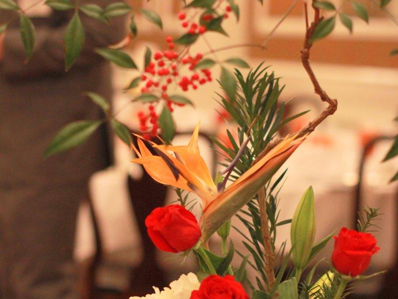 Ikebana by Reiko Blackwell for 2017 Shinnenkai