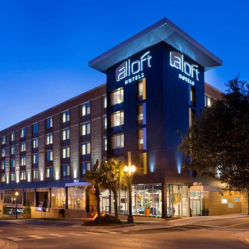 WXYZ Bar at Aloft Hotel Columbia