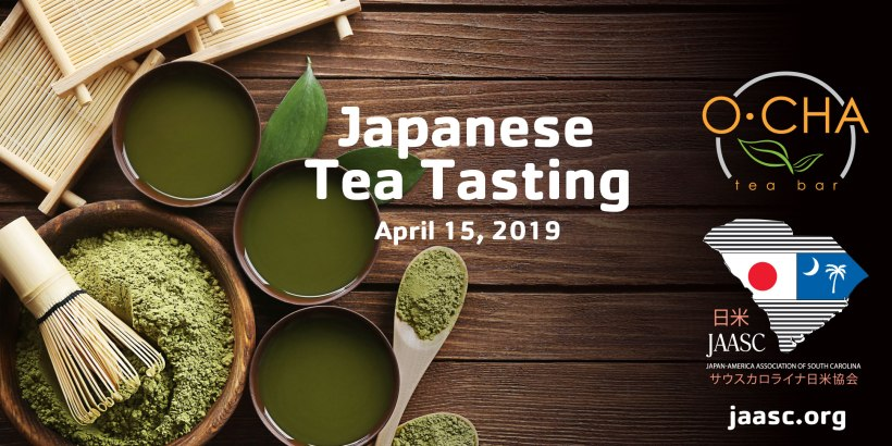 Japanese Tea Tasting hosted by our friends at O-CHA Tea Bar for Japan-America Association of SC